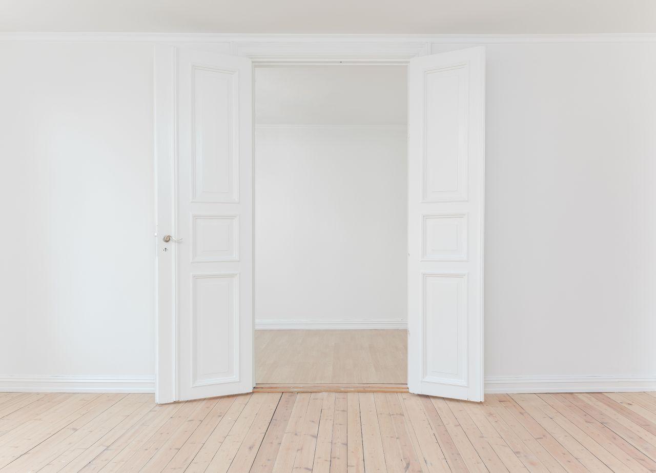 geöffnete Türen - Coaching-Termin