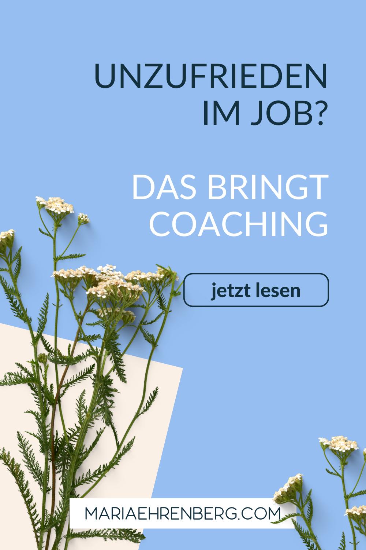 Berufliches Coaching Informationen