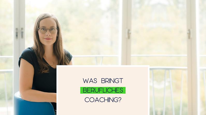Was bringt berufliches Coaching?